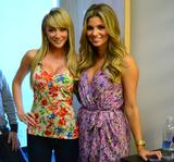 Sara Jean Underwood (with Amber Lancaster) on G4 set (2 UHQ)