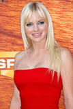 Anna Faris shows legs in birgh red strapless dress at the Spike TV Guys Choice award show