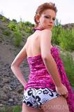 Cosmid.com 2010 10 22 Adriana Getting Muddy