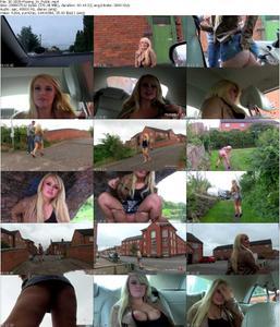 Bonnie D (Pissing In Public) [2014, Blonde, Amateur, Public Nudity, Big Tits, Pissing, 584p, SiteRip...