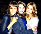 Alison Brie - TwitPic with &amp;quot;The Girls&amp;quot; - Nov 19, 2012
