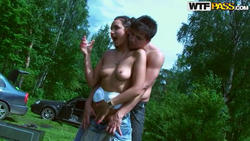 CashForSeXTape - Jocelyn - Barbeque party with horny couple *February 29, 2012*
