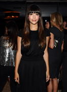 Hannah Simone - All on the Line with Joe Zee event in West Hollywood 09/19/12