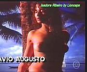 Isadora Ribeiro nua no generico da novela Tieta